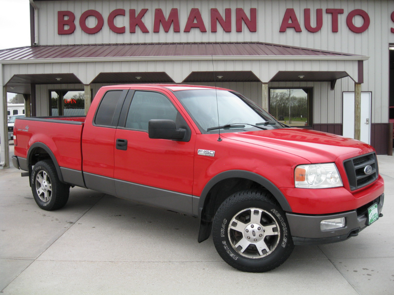 "2004 Ford F-150 Supercab 133"" FX4 4WD"