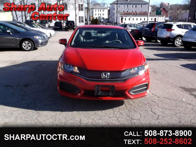 2015 Honda Civic LX Coupe CVT
