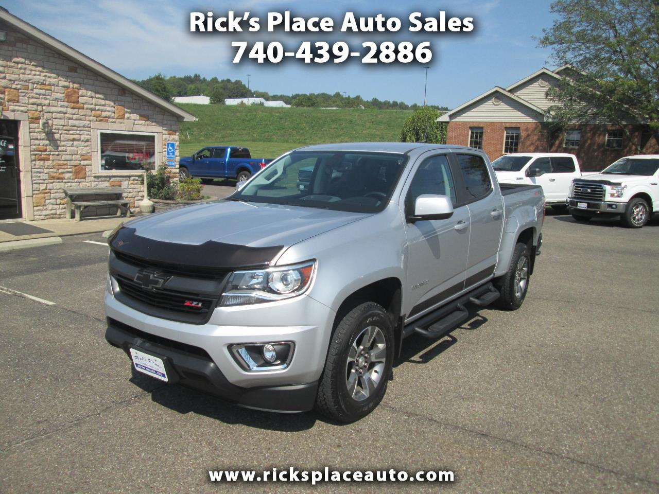 2017 Chevrolet Colorado Z71 Crew Cab 4WD Short Box