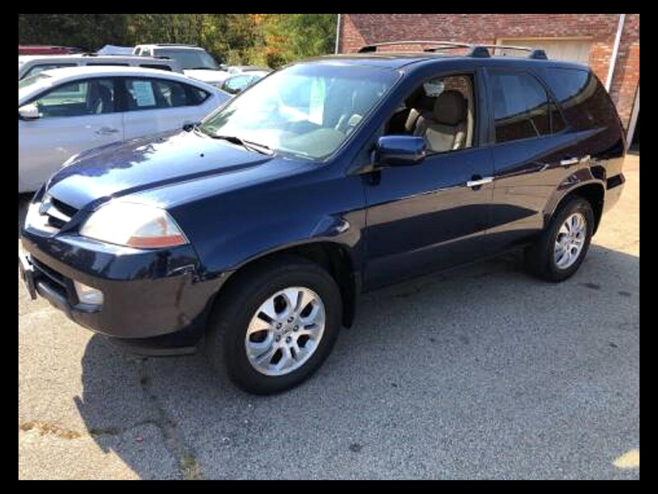Acura MDX Touring with Navigation System and Rear DVD System 2003