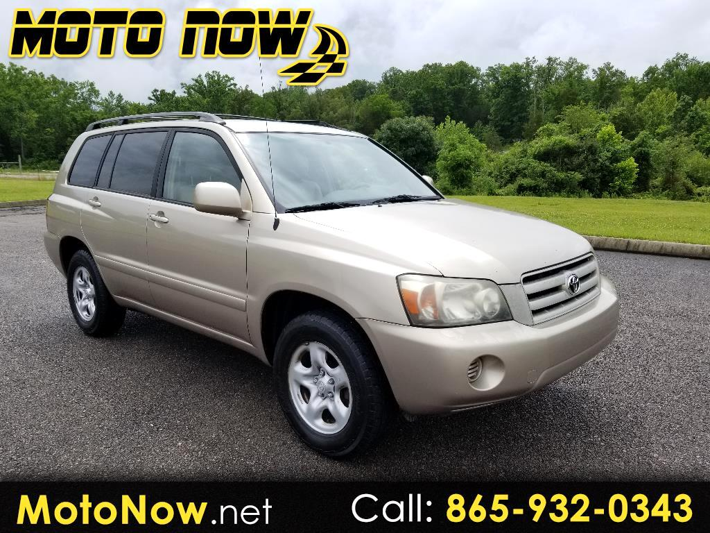 2006 Toyota Highlander Base 2WD