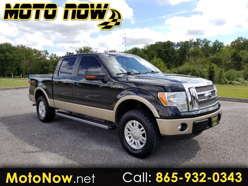 2012 Ford F-150 Lariat SuperCrew 6.5-ft. Bed 4WD