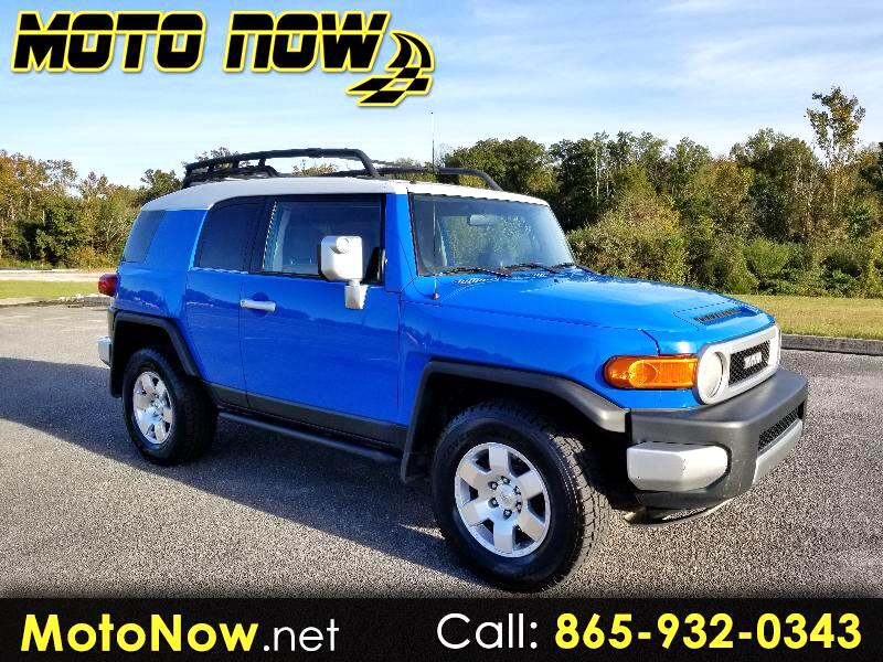 2007 Toyota FJ Cruiser  for sale VIN: JTEBU11F170038381