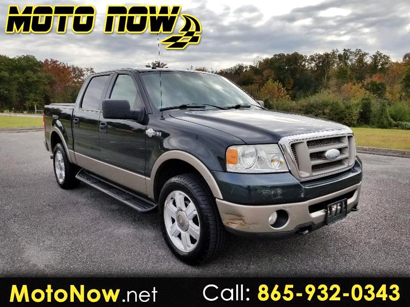 "2006 Ford F-150 4WD SuperCrew 139"" King Ranch"