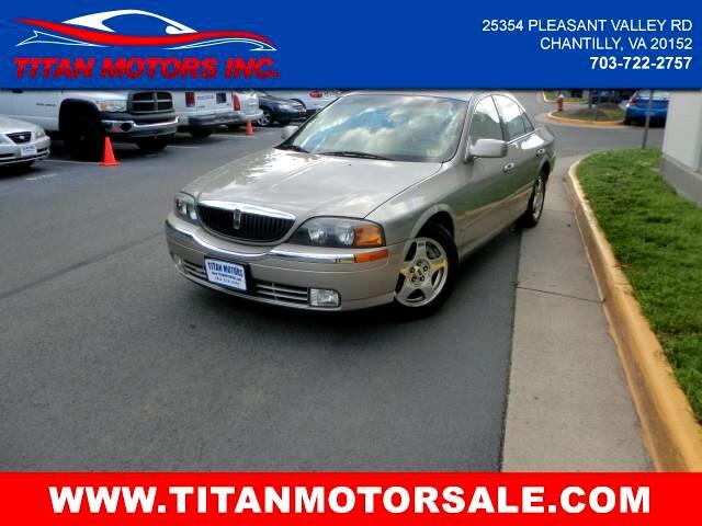 2001 Lincoln LS V8 Premium