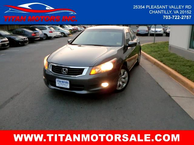 2009 Honda Accord Sedan 4dr V6 Auto EX-L w/Navi