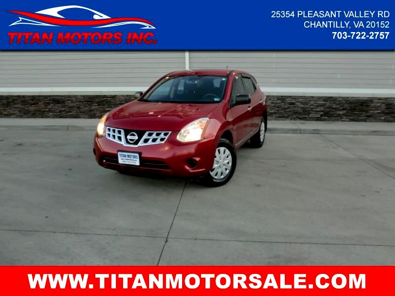 2011 Nissan Rogue AWD 4dr S Krom Edition
