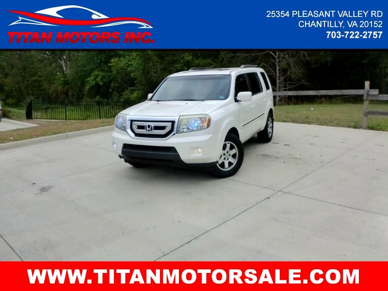 2011 Honda Pilot Touring 2WD 5-Spd AT with DVD