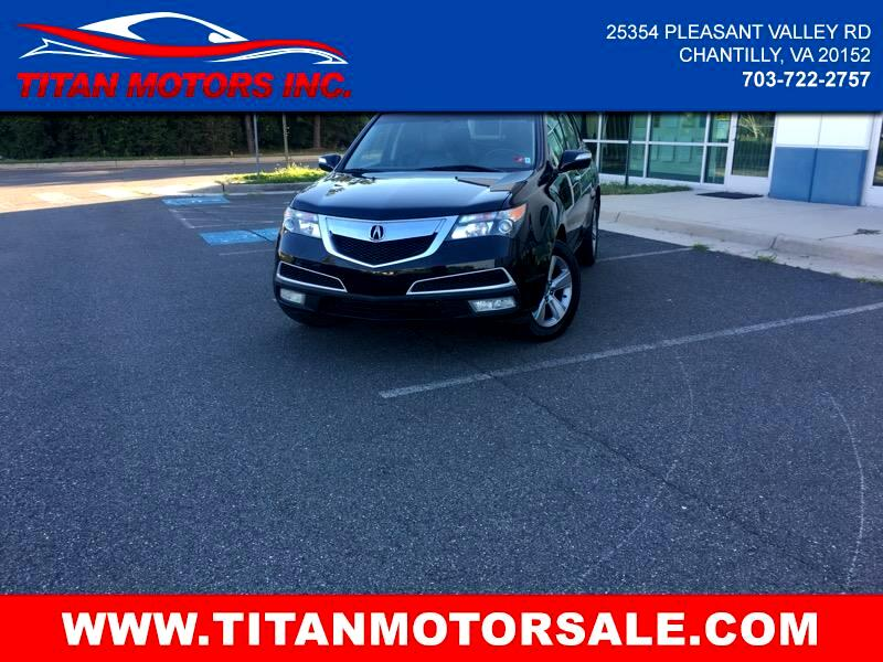 Acura MDX 6-Spd AT w/Tech and Entertainment Package 2011