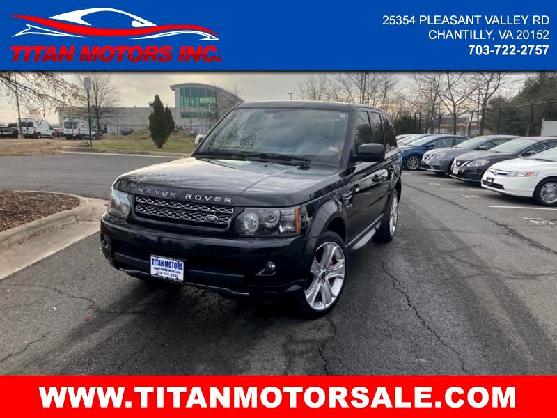 Land Rover Range Rover Sport 4WD 4dr Supercharged 2013
