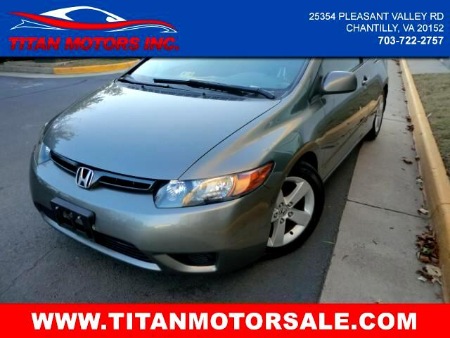 2007 Honda Civic EX Coupe AT