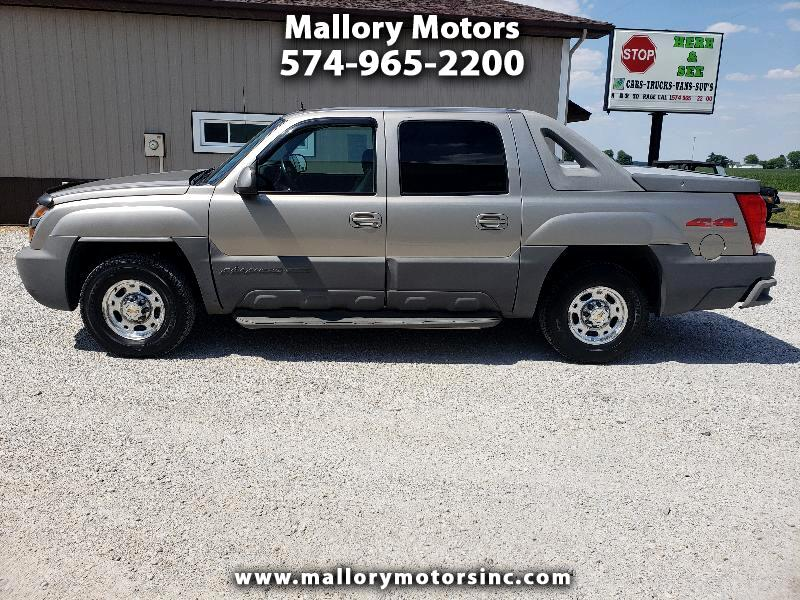 Chevrolet Avalanche 2500 4WD 2002