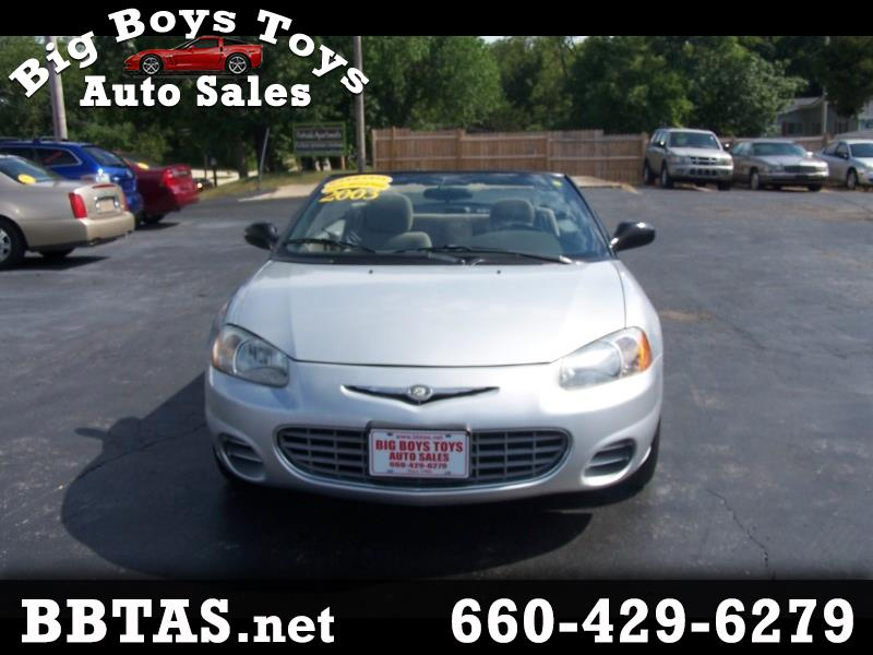 2003 Chrysler Sebring GTC Convertible