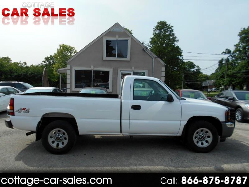 2007 GMC Sierra Classic 1500 Work Truck Long Box 4WD