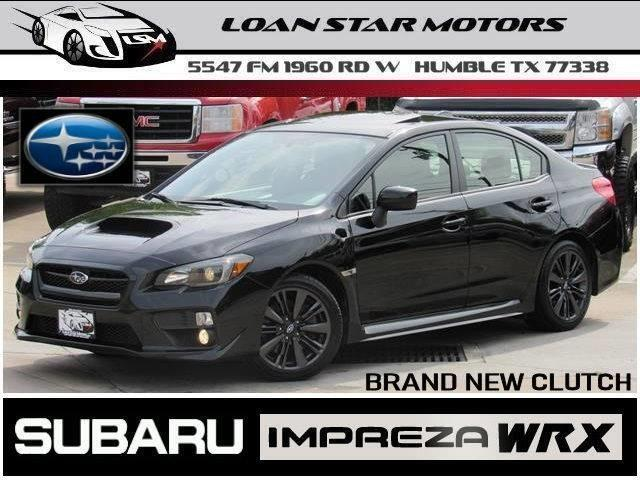 Subaru Diesel Usa >> Used 2015 Subaru Wrx For Sale In Humble Tx 77338 Diesel