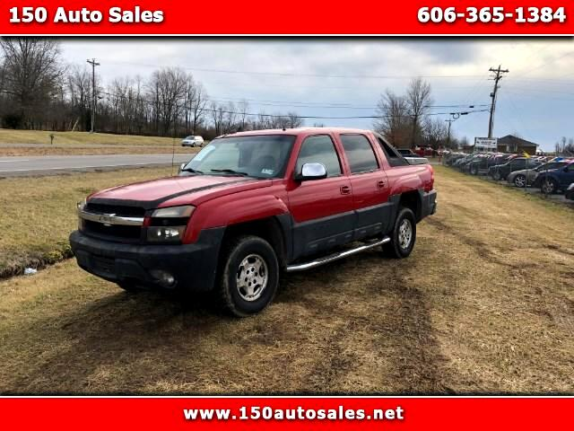 2002 Chevrolet Avalanche 1500 4WD