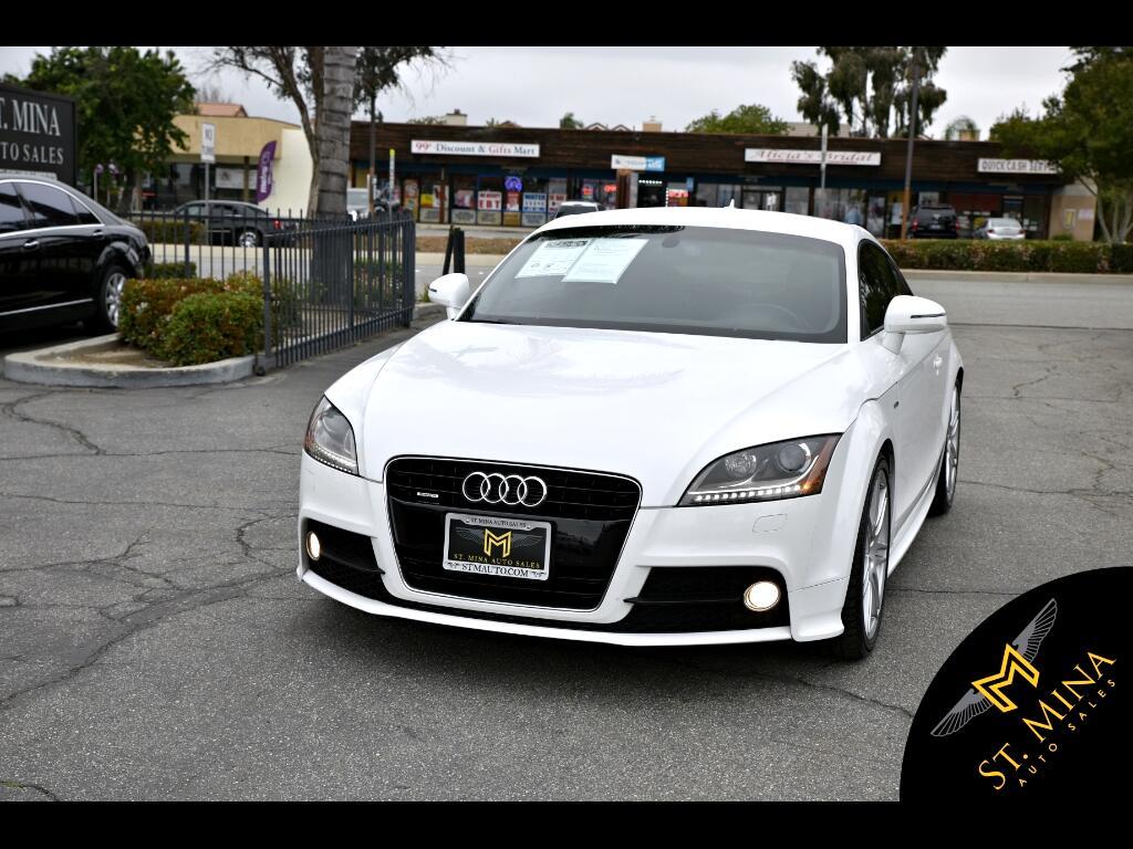 2011 Audi TT Premium Plus Coupe Quattro S-Line