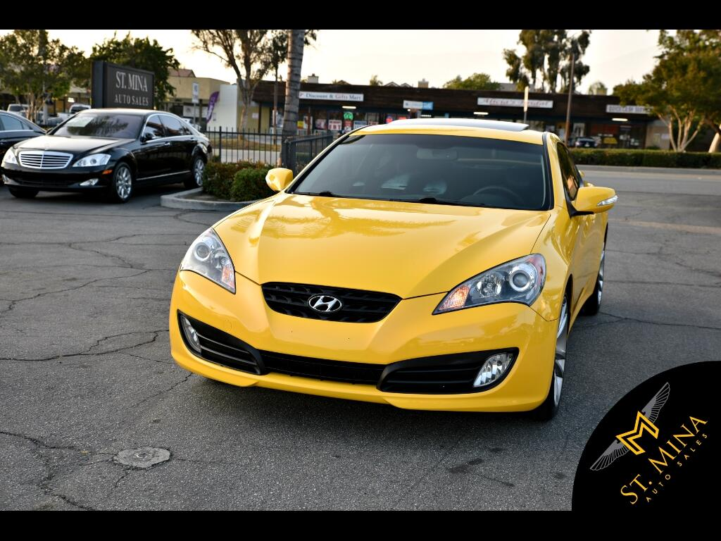 2012 Hyundai Genesis Coupe 3.8 Track Auto