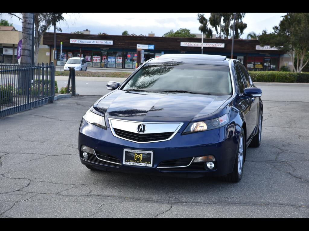 2013 Acura TL 6-Speed AT