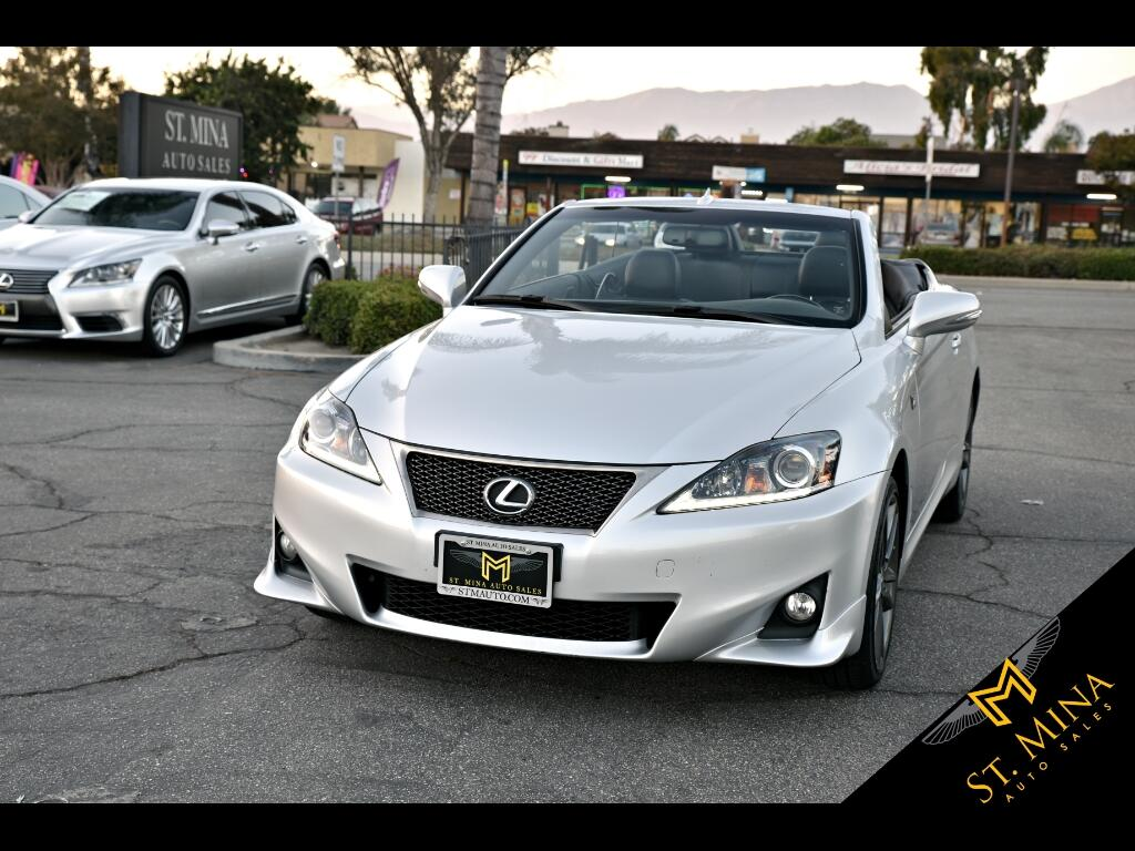 2013 Lexus IS C 250 F Sport