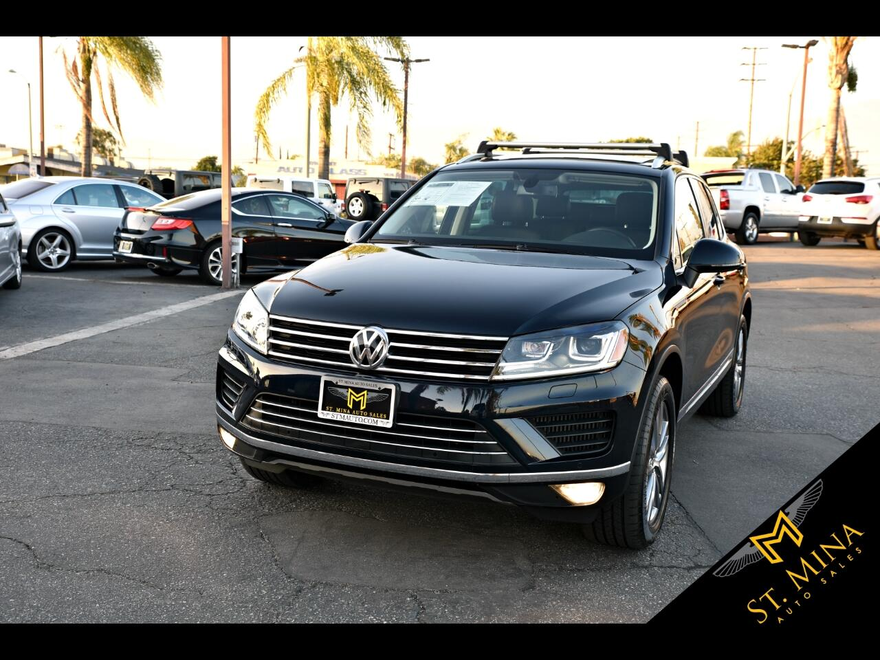 2016 Volkswagen Touareg TDI Lux