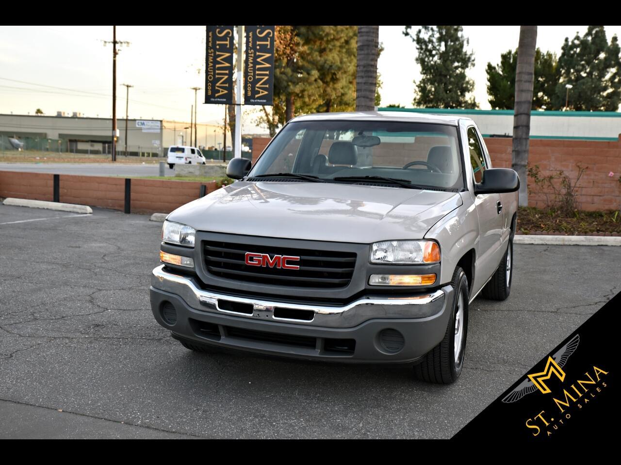 2005 GMC Sierra 1500 Short Bed 2WD