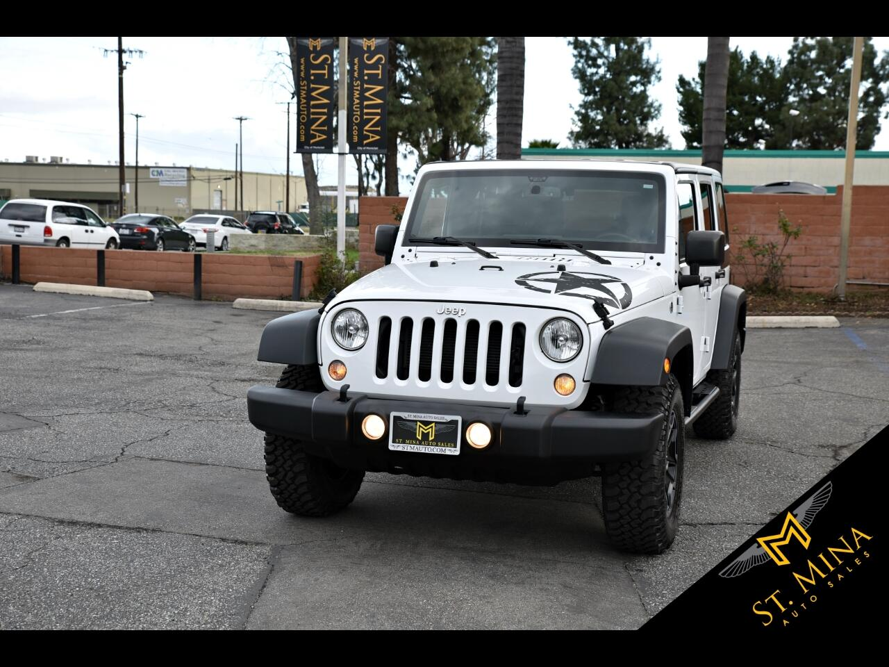 2015 Jeep Wrangler Unlimited S Sport 4WD