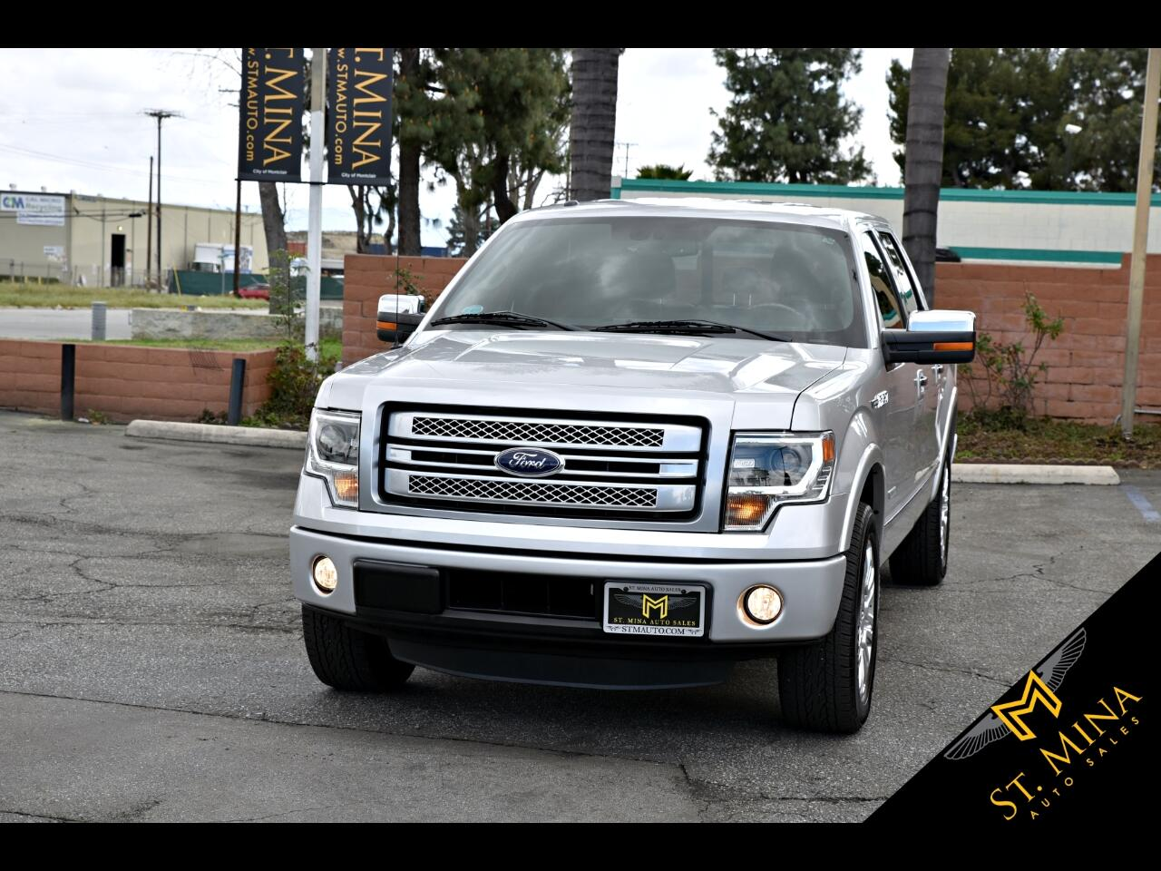 2014 Ford F-150 Platinum SuperCrew 5.5-ft. Bed 2WD