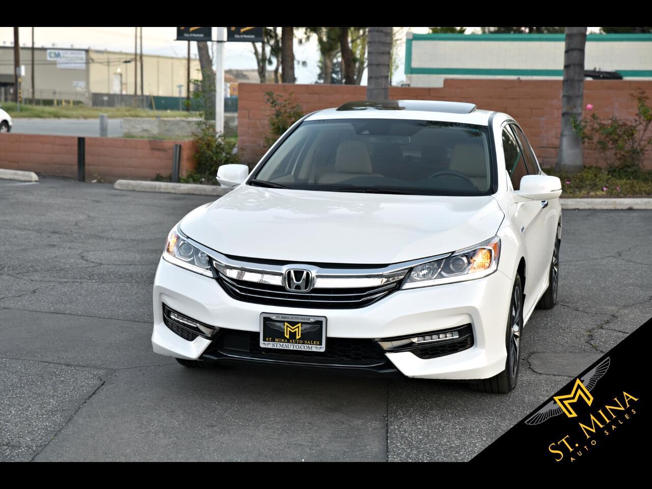 2017 Honda Accord Hybrid EX-L