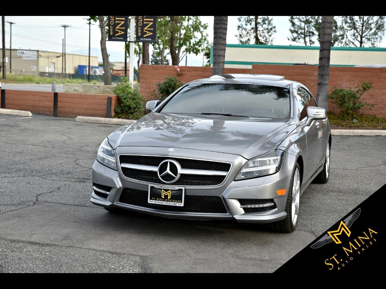 2014 Mercedes-Benz CLS-Class CLS550 4MATIC