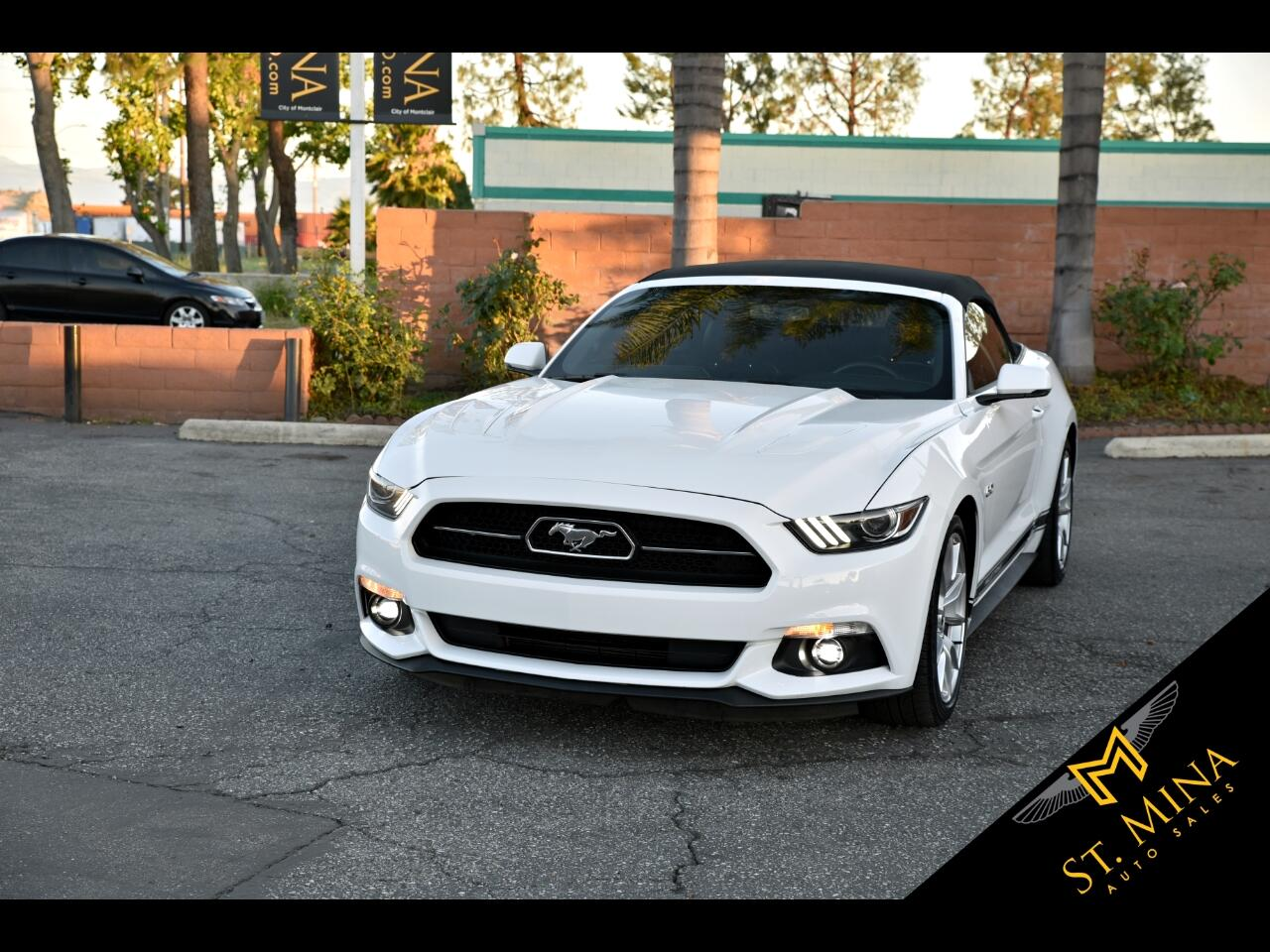 2015 Ford Mustang GT Premium Convertible 50TH Anniversary