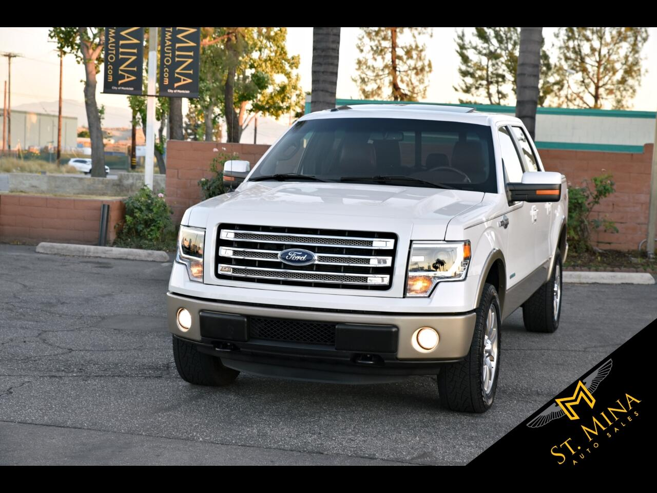 2013 Ford F-150 King-Ranch SuperCrew 5.5-ft. Bed 4WD