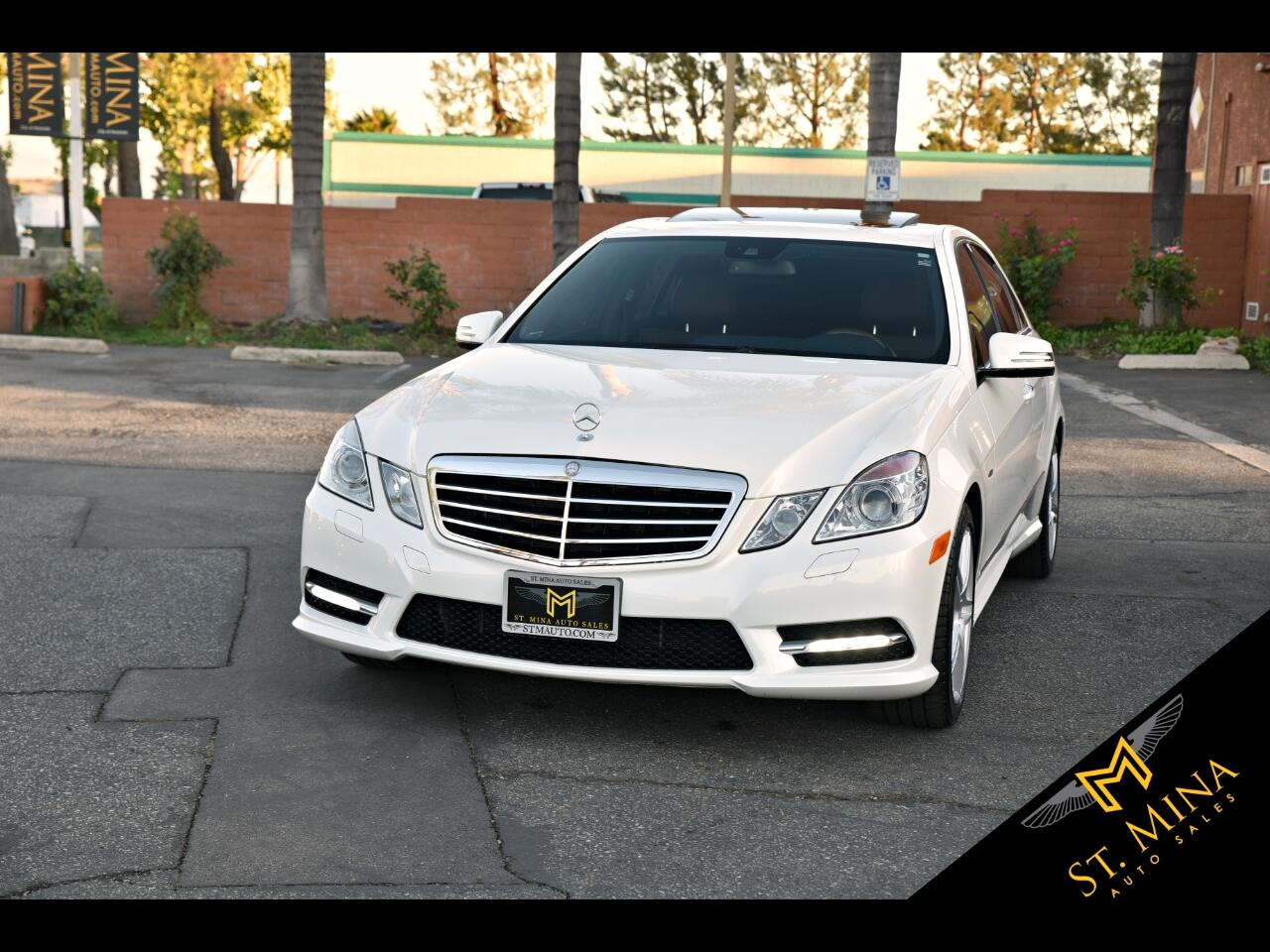2012 Mercedes-Benz E-Class E350 Sport Sedan