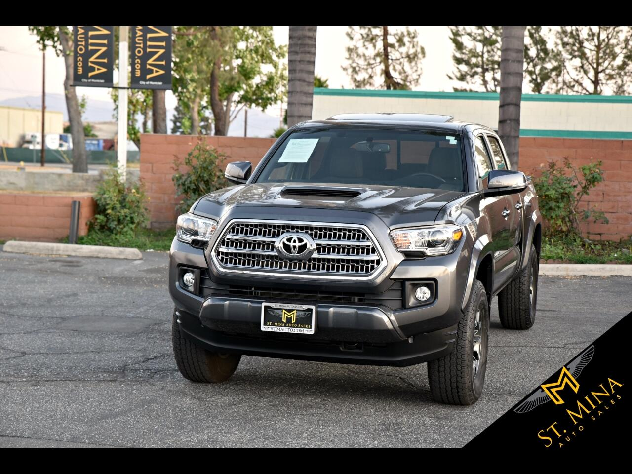 2016 Toyota Tacoma TRD-Sport Double Cab V6 4WD
