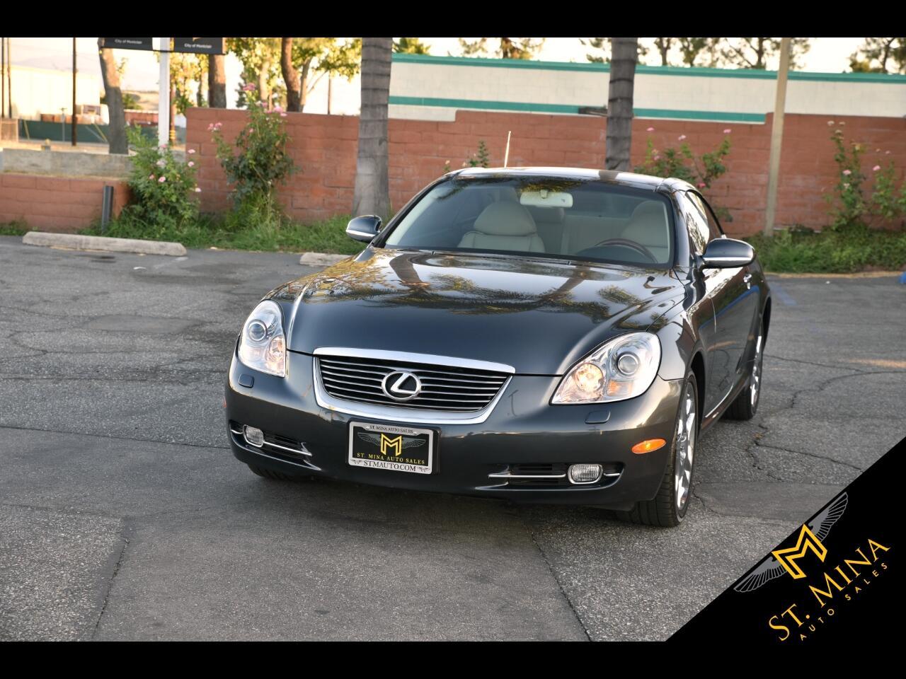 2008 Lexus SC 430 Convertible