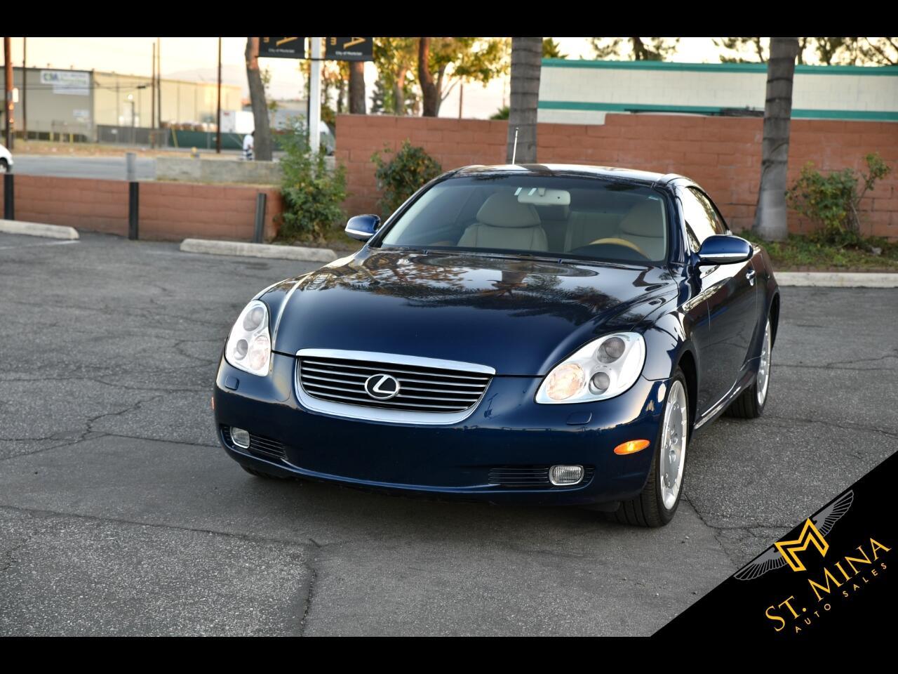 2004 Lexus SC 430 Convertible