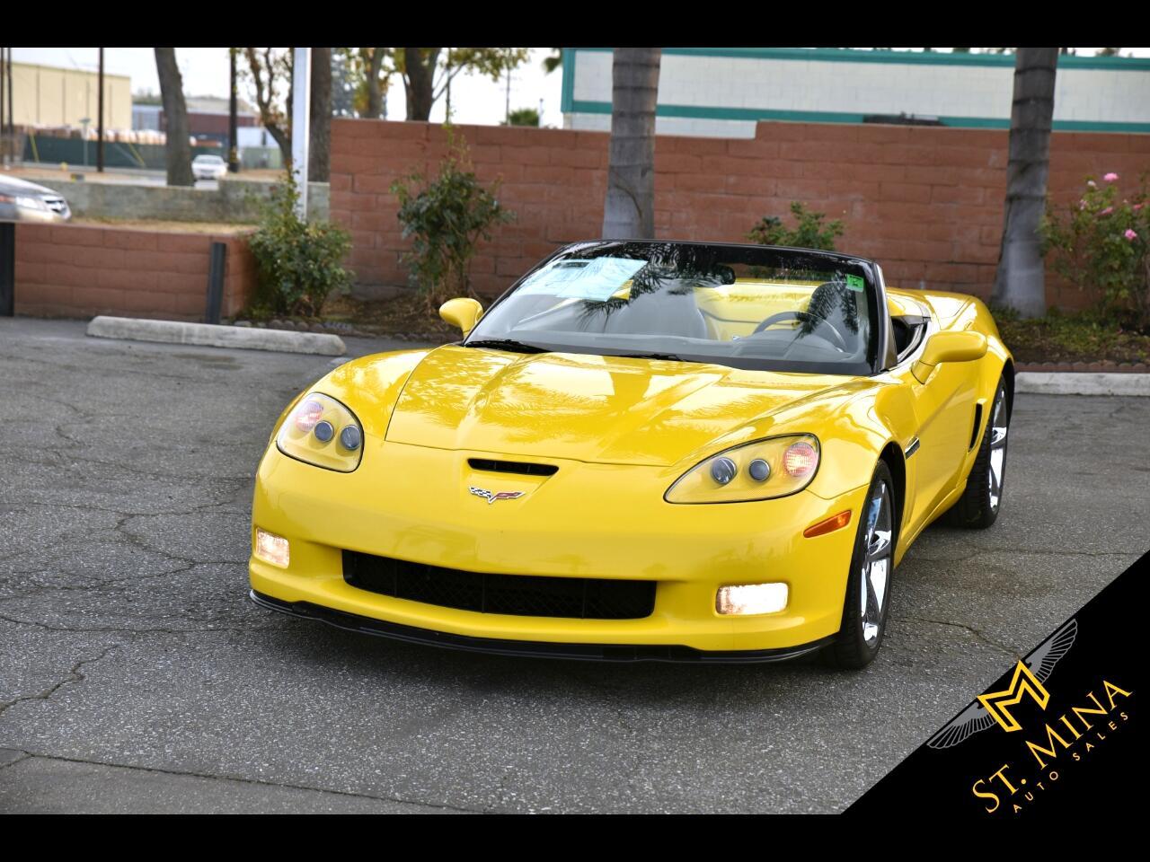 2011 Chevrolet Corvette Grand Sport Convertible 4LT