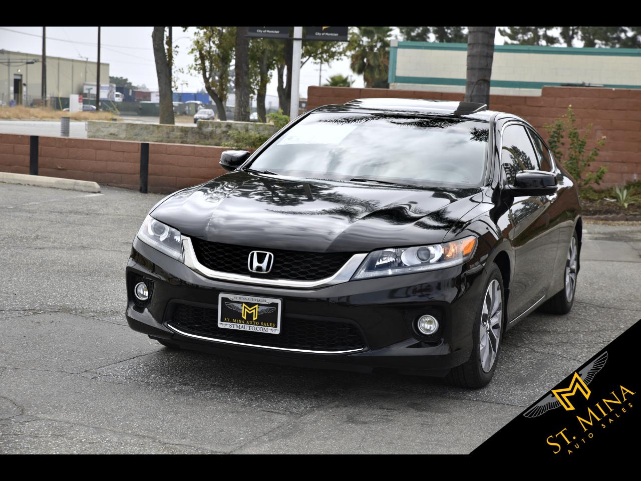 Honda Accord EX Coupe 6-Spd MT 2013