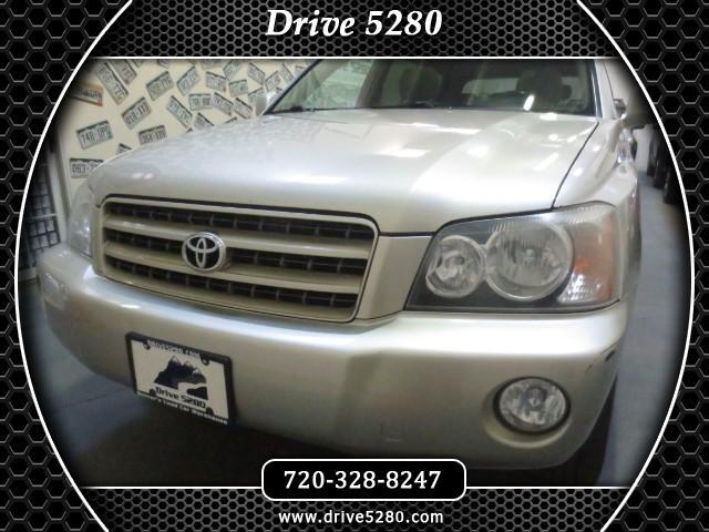 2003 Toyota Highlander Limited V6 4WD