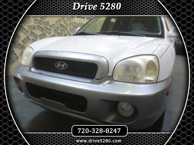 2003 Hyundai Santa Fe GLS 4WD