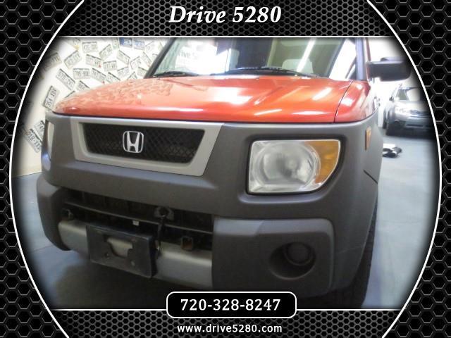 2005 Honda Element EX 4WD 5-spd MT