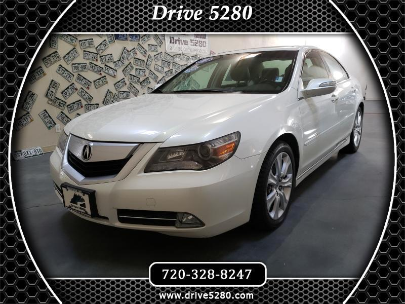 Acura RL Technology Package 2010