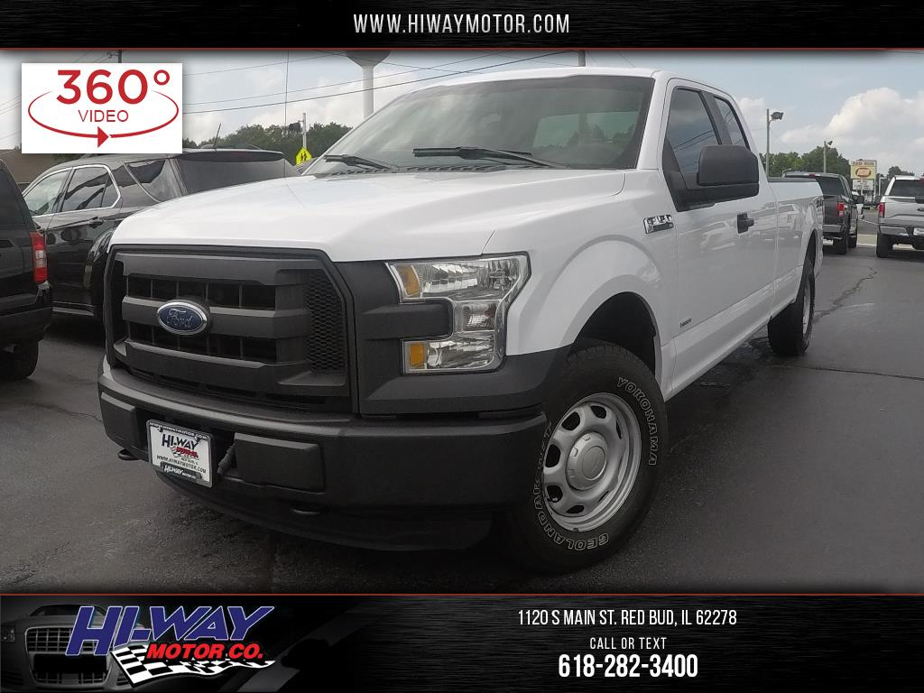 2016 Ford F-150 XL SuperCab 8-ft. Bed 4WD