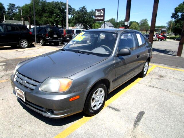 2004 Hyundai Accent 3-door