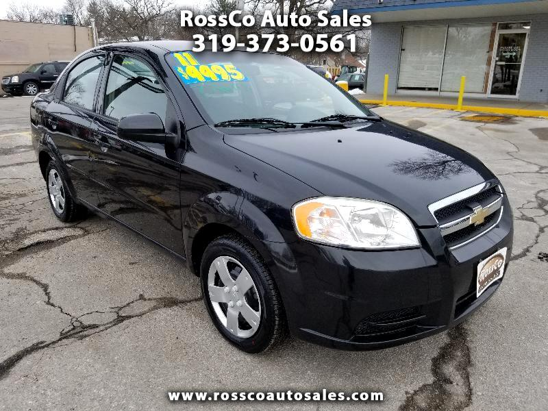2011 Chevrolet Aveo 1LT 4-Door