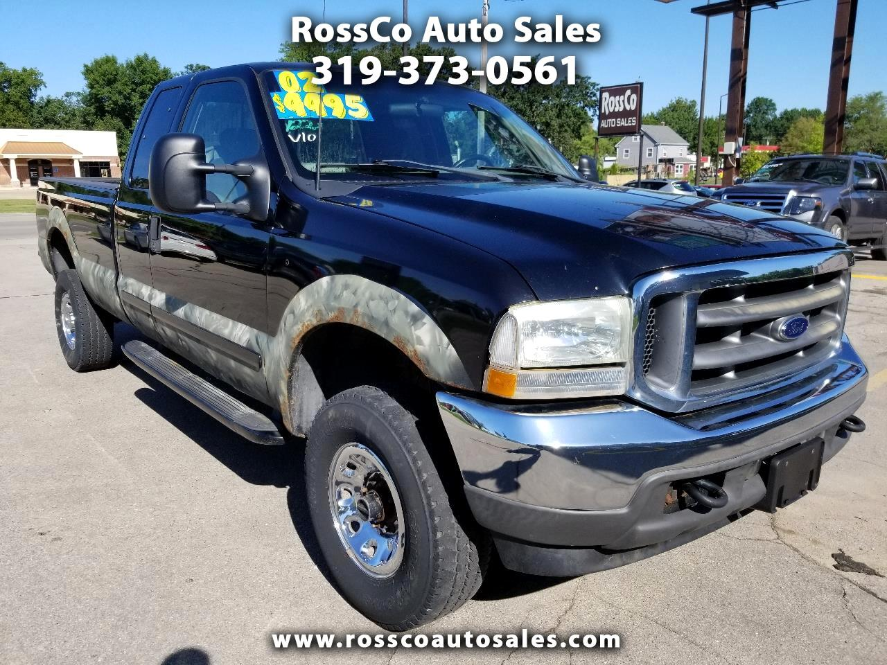 2002 Ford F-350 SD XL SuperCab 4WD