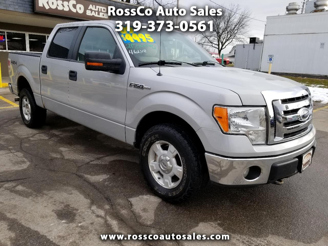 Ford F-150 XLT SuperCrew 5.5-ft. Bed 4WD 2009