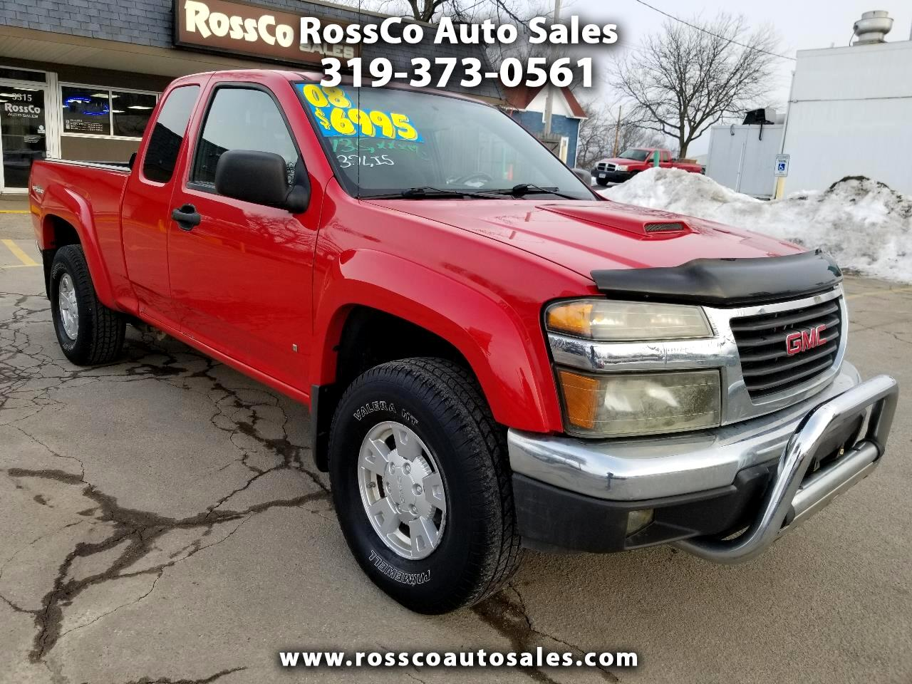GMC Canyon SLT Ext. Cab 4WD 2008