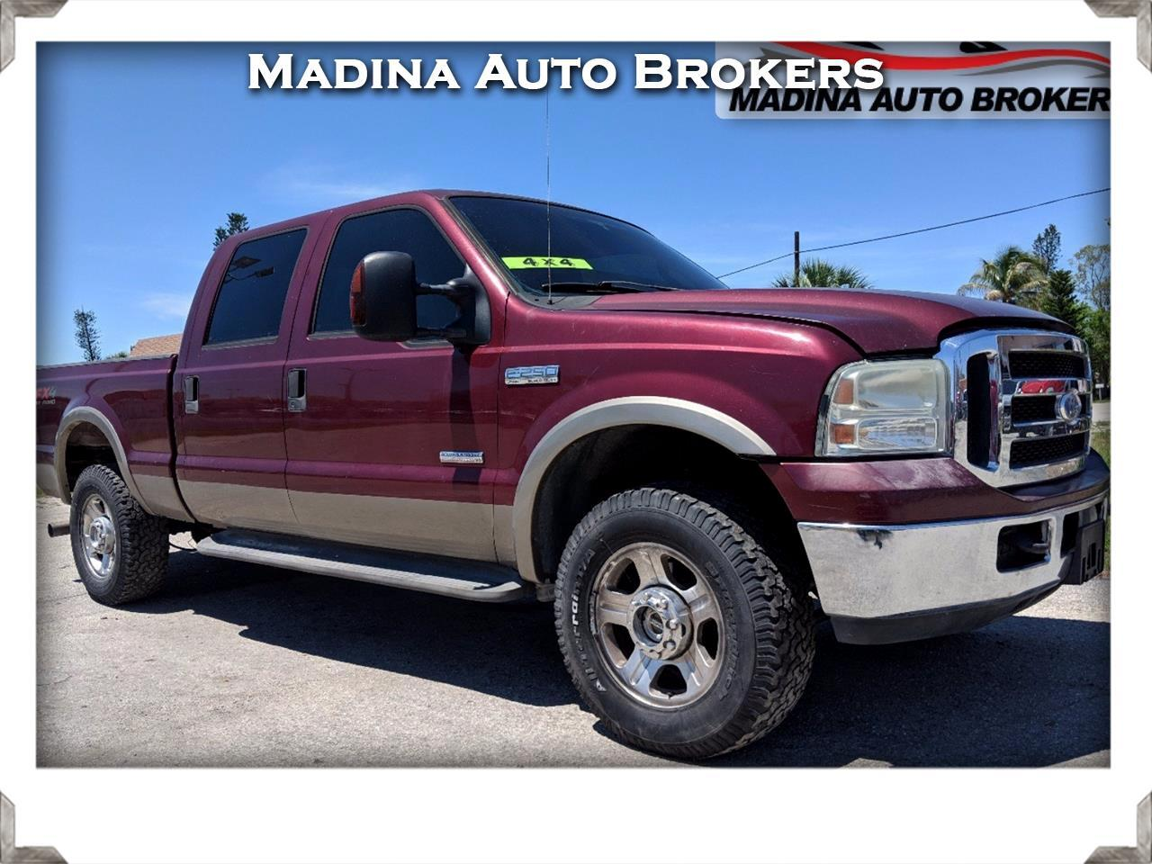 Ford F-250 SD XL Crew Cab 4WD 2005