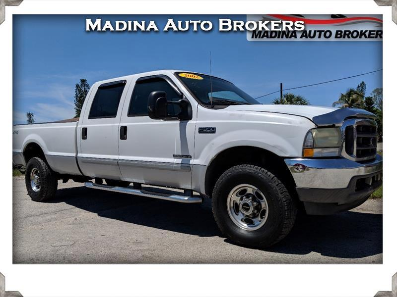 "2002 Ford Super Duty F-350 SRW Crew Cab 156"" XL 4WD"